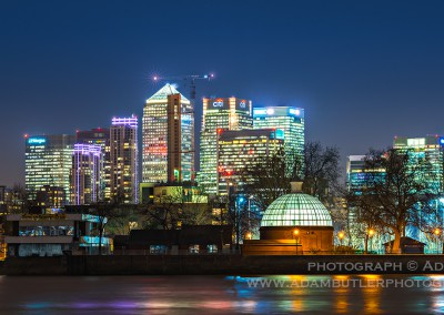 Canary Wharf and Greenwich Footpath Entrance Dome