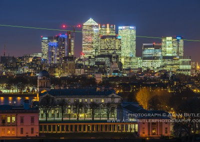 Canary Wharf and Royal Naval College