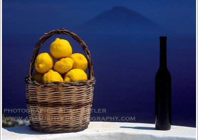 Lemons, Bottle and Stromboli