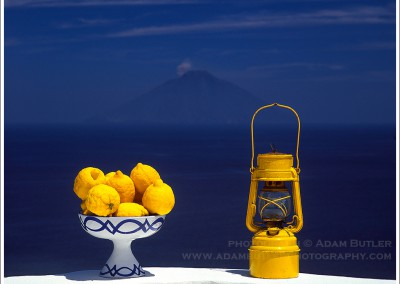 Lemons, Lantern and Stromboli