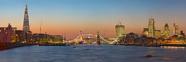 Butler's Wharf and Tower Bridge Sunset