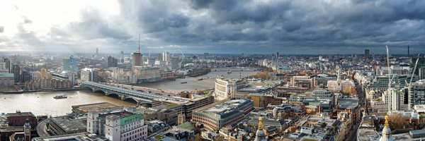 London – Stormy Day