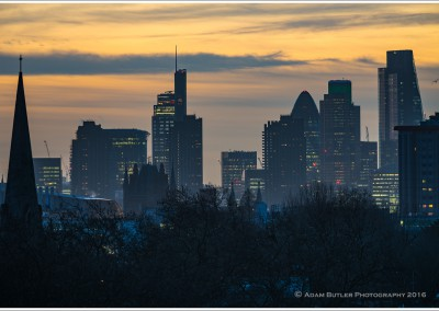 The City from Primrose Hill