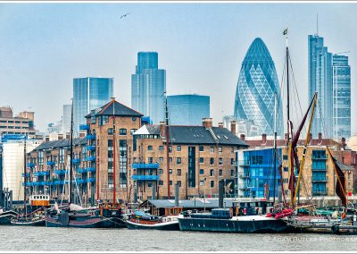 Barges, Wapping