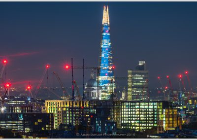 Shard and St Paul's