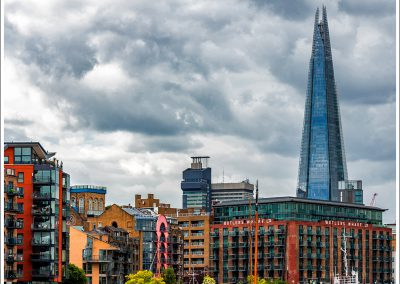 Butler's Wharf with the Shard
