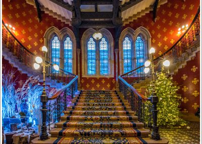 St Pancras Hotel staircase