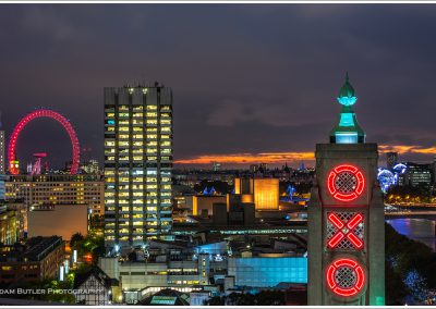 Oxo Tower and the South Bank