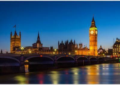 Westminster Br, House of Parliament, Big Ben, sunset