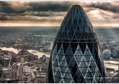 St Mary Axe from Heron Tower
