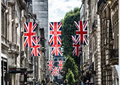Jermyn St and Flags