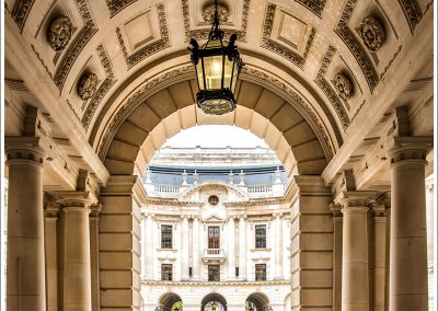 Entrance Archway of the HM Treasury
