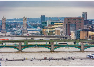 View of Bridges on the River Thames