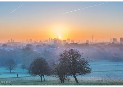 Frosty Sunrise Primrose Hill
