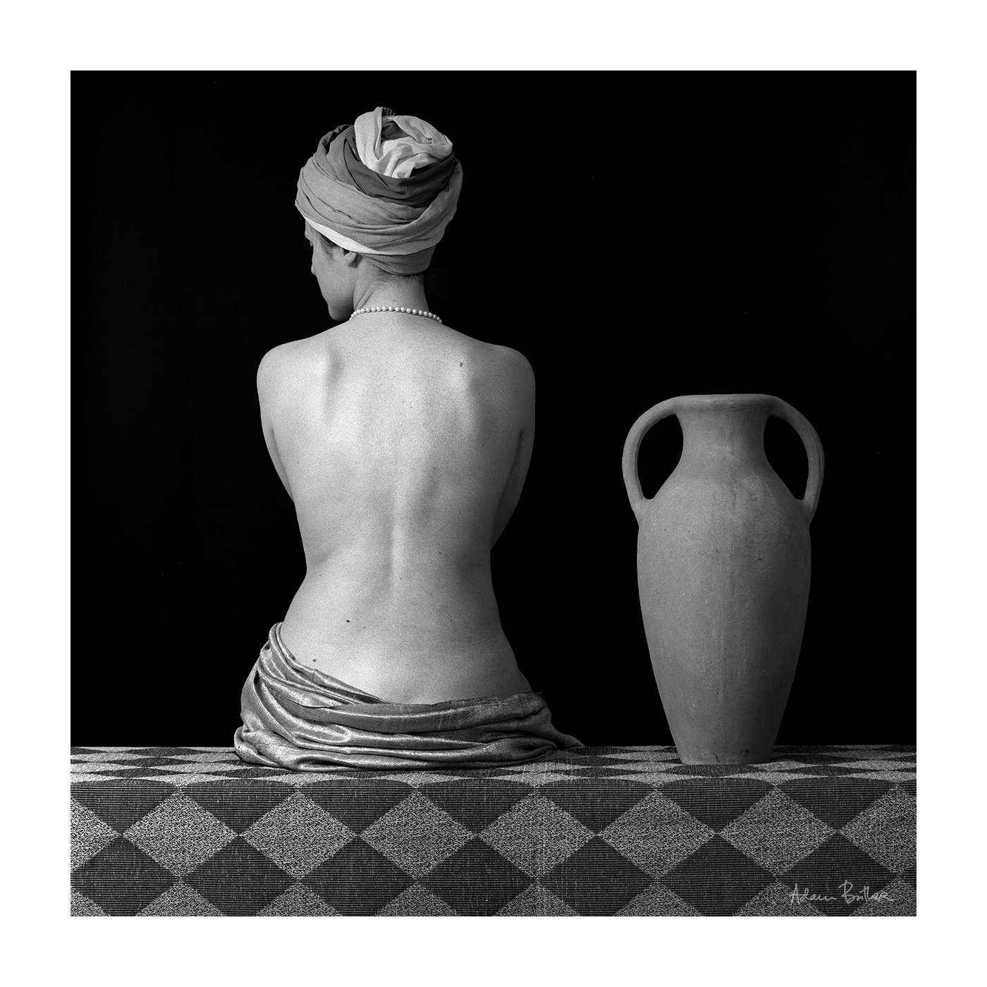 Nude and Amphora