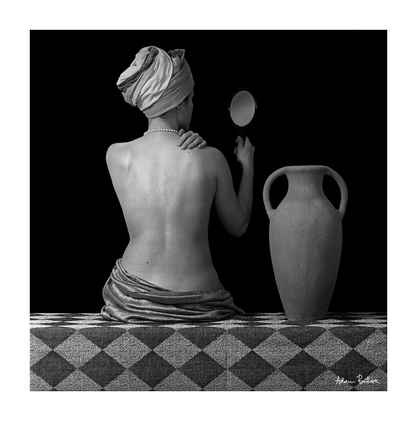 Nude, Amphora and Mirror